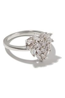 Кольцо с блестящими кристаллами Exclaim