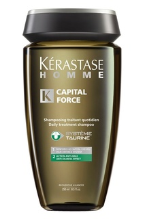 Шампунь-Ванна Capital Force для жирных волос, 250 ml Kérastase