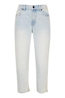 Голубые выбеленные джинсы Alexander Wang