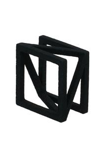 Черное кольцо Diagonal Belki Rings