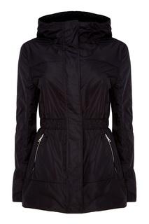 Черная куртка с капюшоном Moncler