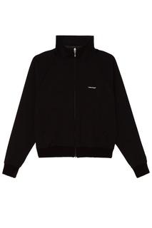 Черная куртка в спортивном стиле Balenciaga