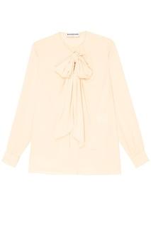 Блузка Balenciaga с драпировкой