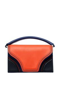 Комбинированная сумка color blocking Diane von Furstenberg