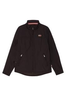 Черная куртка на молнии Napapijri