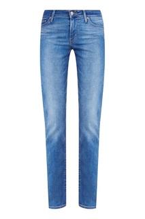 Синие джинсы с выбеливанием 714 STRAIGHT BACKTRACK Levis®