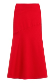 Красная юбка-миди Hugo Boss