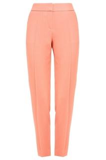 Укороченные розовые брюки Hugo Boss