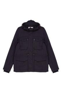 Черная куртка с накладными карманами Napapijri
