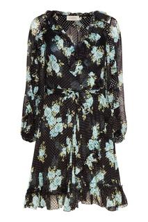 Шелковое двуслойное платье Zimmermann