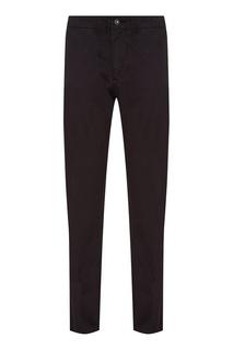 Черные хлопковые брюки-чинос Napapijri
