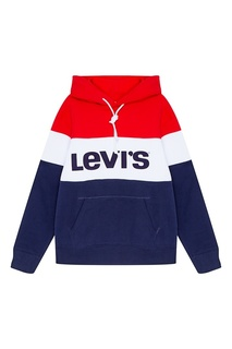 Хлопковое худи COLORBLOCK SPORT HOODIE RETRO CO Levis®