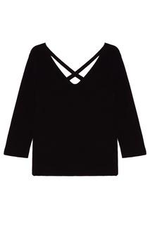 Пуловер с открытой спиной Tea Amina Rubinacci