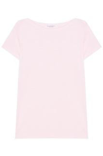 Розовая футболка из льна Torrente Amina Rubinacci