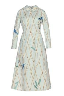Жаккардовое платье с принтом Alena Akhmadullina