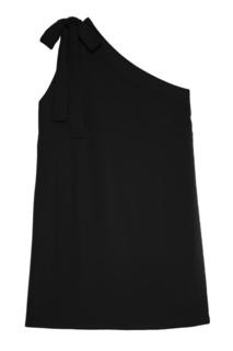 Черное платье с открытым плечом P.A.R.O.S.H.