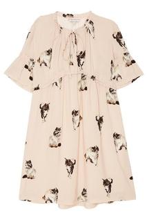 Платье-мини с фотопринтом Paul & Joe Sister