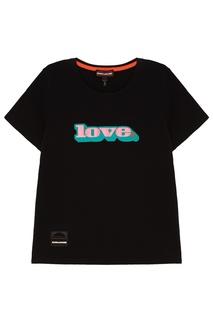 Черная футболка из хлопка Love Marc Jacobs