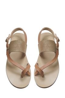 Кожаные сандалии SHAKTY Bonpoint