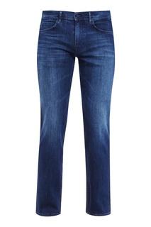 Синие потертые джинсы Boss Green