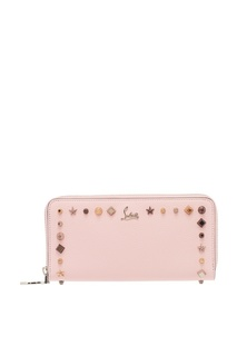 Розовый кошелек с заклепками Panettone Christian Louboutin