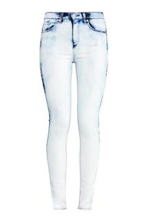 Голубые джинсы с «вареным» эффектом Rag&Bone