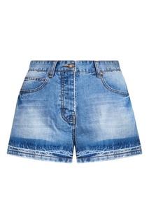 Синие джинсовые шорты-мини Paul & Joe Sister