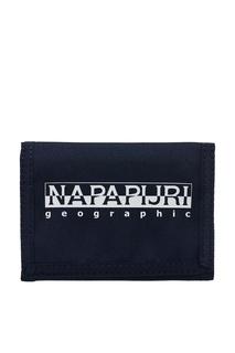 Черный текстильный бумажник Napapijri
