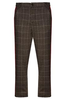 Серые брюки с красными лампасами 3.Paradis
