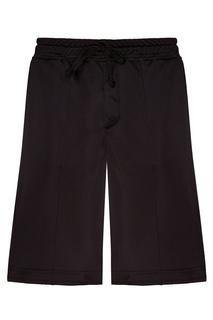 Черные шорты с логотипом сбоку 3.Paradis