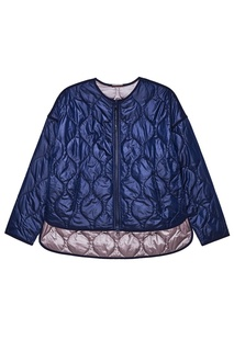 Синяя двусторонняя куртка на молнии Novaya