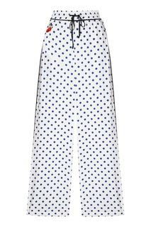 Белые брюки в горошек Essentiel Antwerp