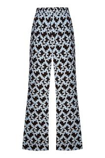 Контрастные брюки-палаццо Essentiel Antwerp