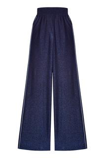 Широкие синие брюки Golden Goose Deluxe Brand