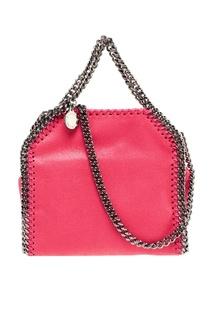 Розовая сумка из эко-кожи Falabella Stella Mc Cartney