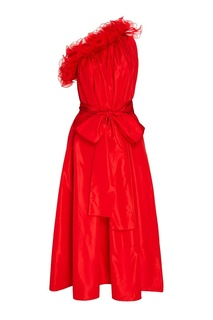 Красное платье из шелковой тафты Stella Mc Cartney