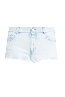 Светло-голубые джинсовые шорты Stella Mc Cartney