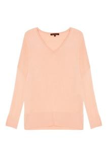 Розовый пуловер oversize Adolfo Dominguez