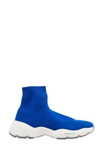 Синие кроссовки из джерси O.X.S.