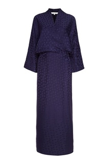Шелковое платье-кимоно Alexander Terekhov