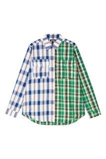 Рубашка из комбинированного хлопка Artem Krivda