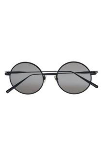 Круглые очки в черной оправе Scientist Acne Studios