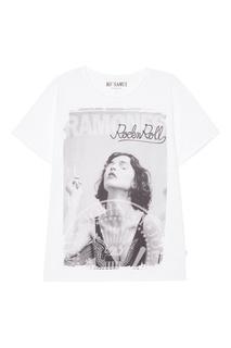 Белая футболка с фотопринтом Roller KO Samui