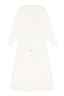 Комбинированное платье с сеткой Laroom