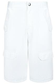 Белые шорты с карманами Dior Children