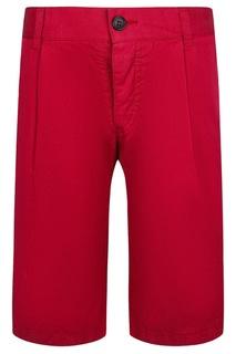 Красные шорты Dior Children