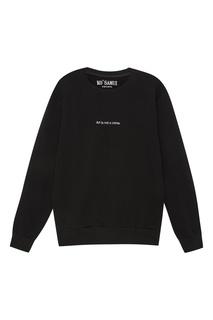 Черный свитшот с принтом на спине Campbell's KO Samui