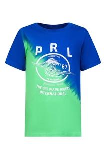 Цветная футболка с принтом Ralph Lauren Children