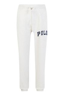 Трикотажные брюки с аппликацией Ralph Lauren Children