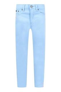 Голубые джинсы с вышивкой Ralph Lauren Children